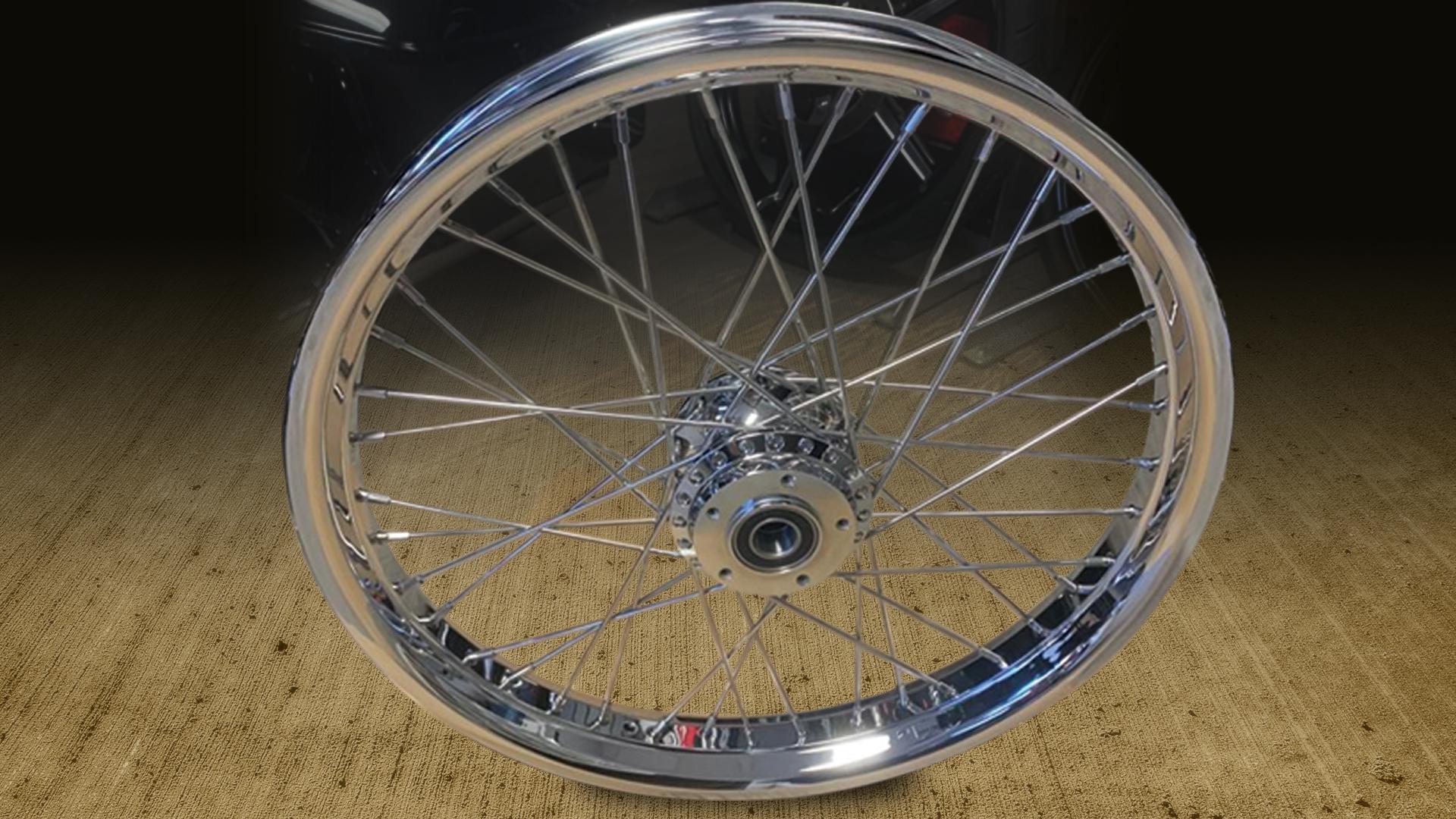 Chrome Wire Ally Rims & Wheels